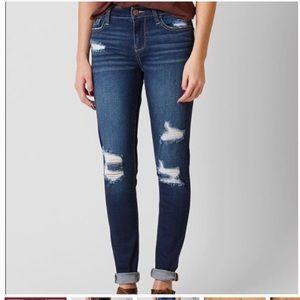 Daytrip Lynx Skinny Distressed Medium Wash Jean